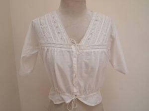 Victorian inspired lace top
