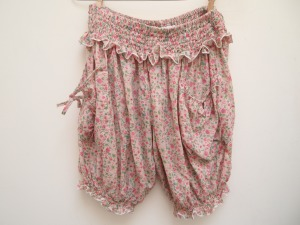 floral pink bloomers